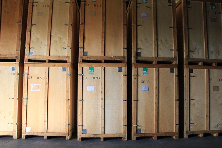 Garde meuble longue durée pour oeuvre d'art - ADD déménagement